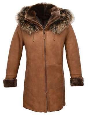 Manteau mouton femme camel
