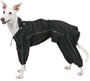 Imperméable noir pour chien