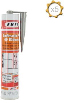 Mastic polyuréthane gris EMFI