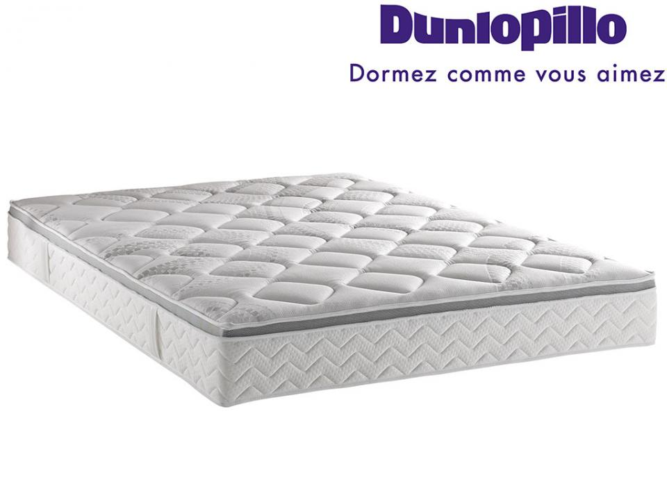 Dunlopillo matelas latex aerotex 21 cm 90 x 190 en latex - Matelas 80x200 latex ...