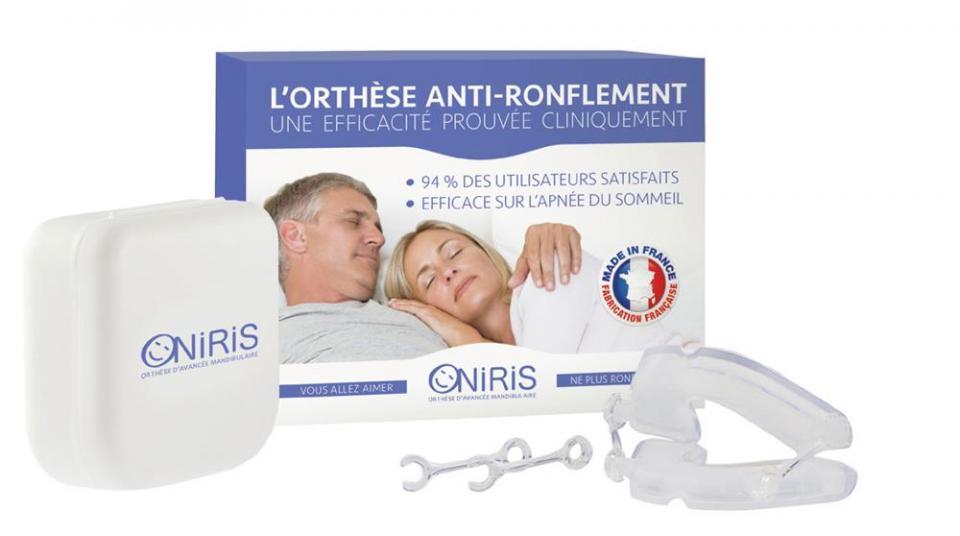 Orthèse anti-ronflement et