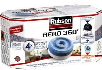 Recharges Aero 360 Rubson