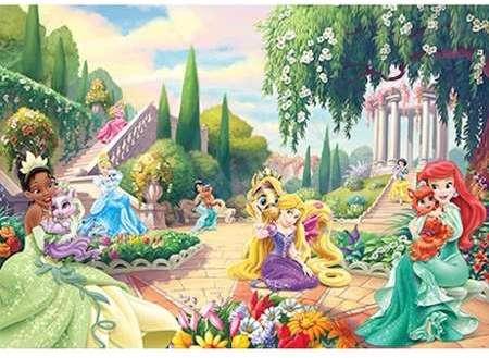 Disney Papier Peint Chateau Princesse Qualite Numerique