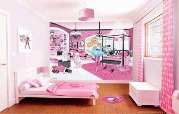 Papier Peint Barbie