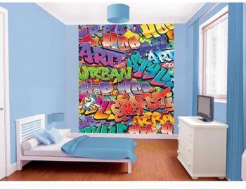 Papier Peint Graffiti