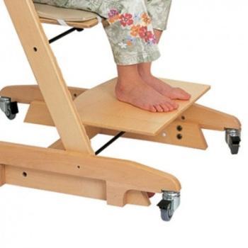 grosfillex cchaise longue avec repose pieds atlantic coloris. Black Bedroom Furniture Sets. Home Design Ideas