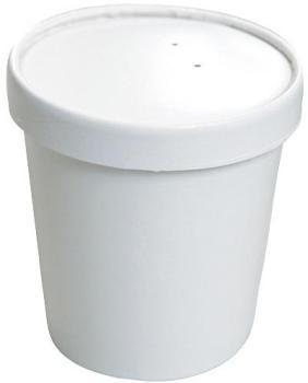 Pot à soupe carton blanc 36cl