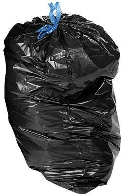 Sac poubelle en PE gris 330