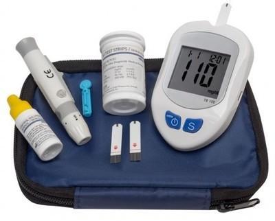 Kit de contrôle de la glycémie