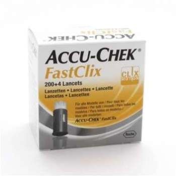 ACCU CHEK Fastclix Lancette