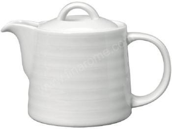 Asa Thire Ovale En Porcelaine Avec Filtre Manche Boi