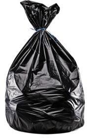 Sacs poubelles noirs 30L 35