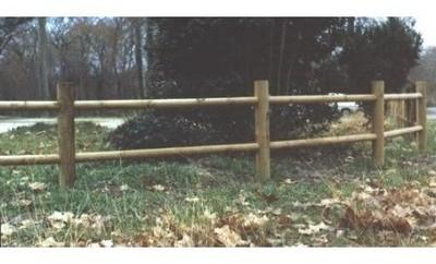 Portillon bois pour clôture