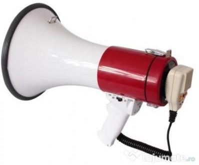 Megaphone 60W Porte Voix Mega60Usb-Bt