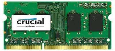 CRUCAL 4 Go DDR3L 1600 MHz