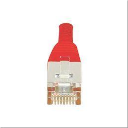 Cordon RJ45 CAT 6 F UTP rouge
