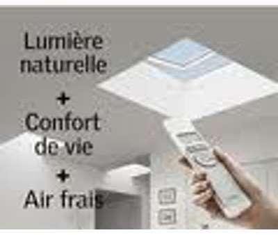 Recherche velux electrique - Fenetre coupole pour toit plat ...