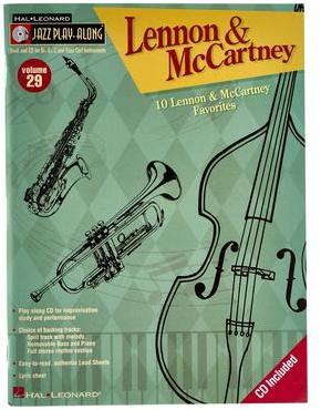 Jazz Play Along Lennon Cartney