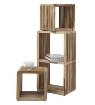 Meubles design set de 3 cubes