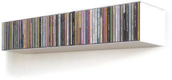 Linea1 - b Etagère CD blanc