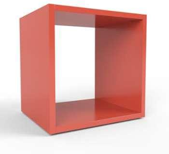 Etagère Cube rouge - 41 x