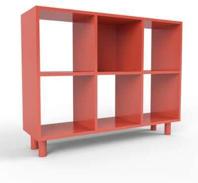 Range CD rouge - Design moderne