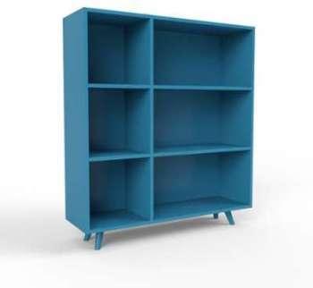 Range CD bleu - Design moderne