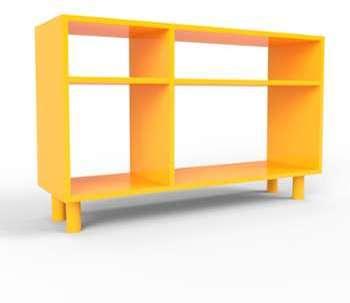 Range CD jaune - Design moderne