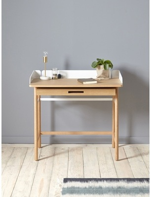 Bureau adulte naturel blanc