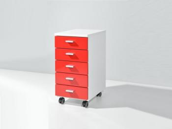 Catgorie meubles de bureau du guide et comparateur d 39 achat for Meuble bureau rouge