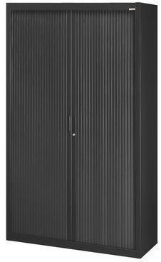 Armoire haute 200cm à rideaux