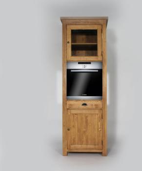 Colonne Cuisine en bois pour