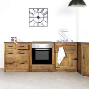 Meuble de cuisine 4 tiroirs