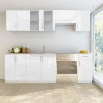 VidaXL Set de 7 meubles cuisine