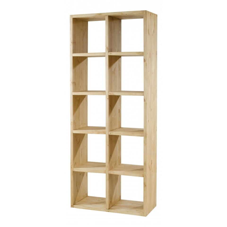 couleurs cube de 4 rangements design en pin des alpes. Black Bedroom Furniture Sets. Home Design Ideas