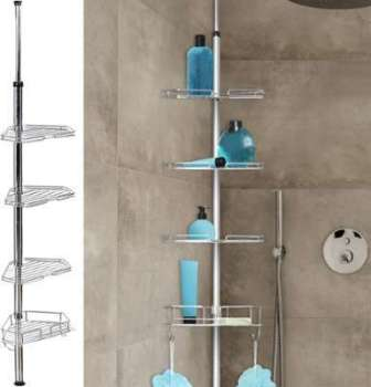 Etagère d angle de douche