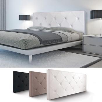 Tête de lit capitonnée PVC