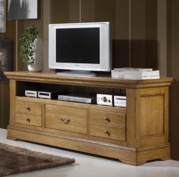 Grand meuble télé 100 chêne