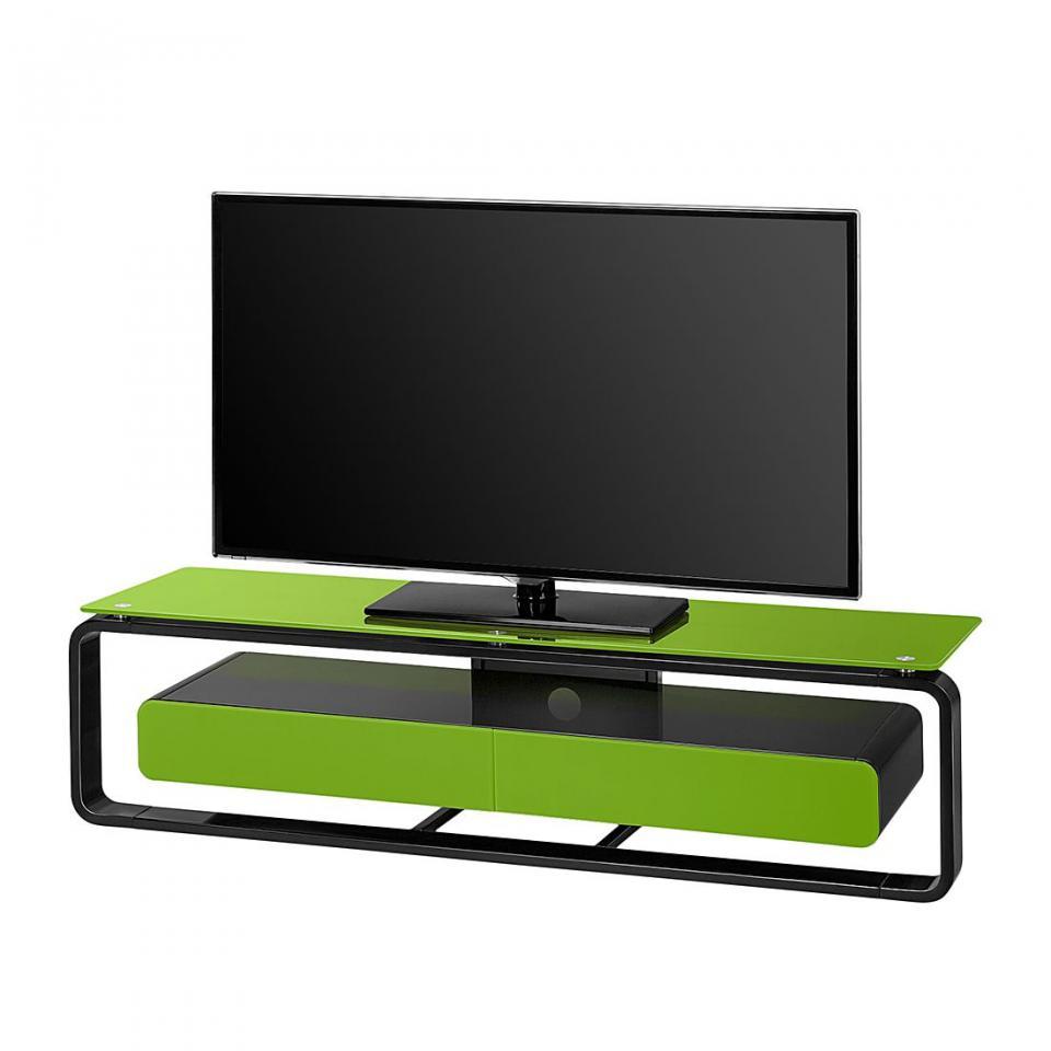 Recherche meuble verre du guide et comparateur d 39 achat for Meuble tv noir brillant