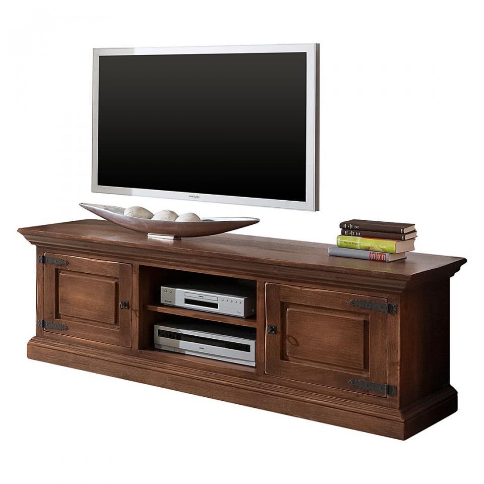 couleurs cube meuble tv en pin massif brut 3 niches matenda. Black Bedroom Furniture Sets. Home Design Ideas
