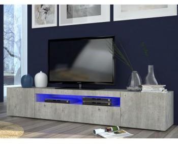 Meuble TV design style pierre