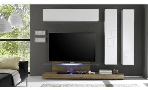 Recherche meuble verre du guide et comparateur d 39 achat - Meuble tv avec plateau coulissant ...