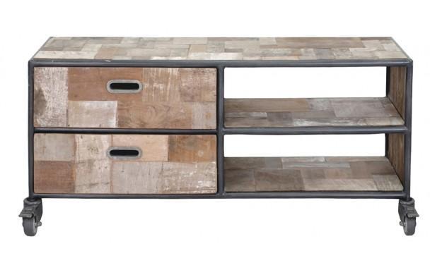Dtails caractristiques achat du kit de montage plafond h57 for Meuble tv 100 cm bois