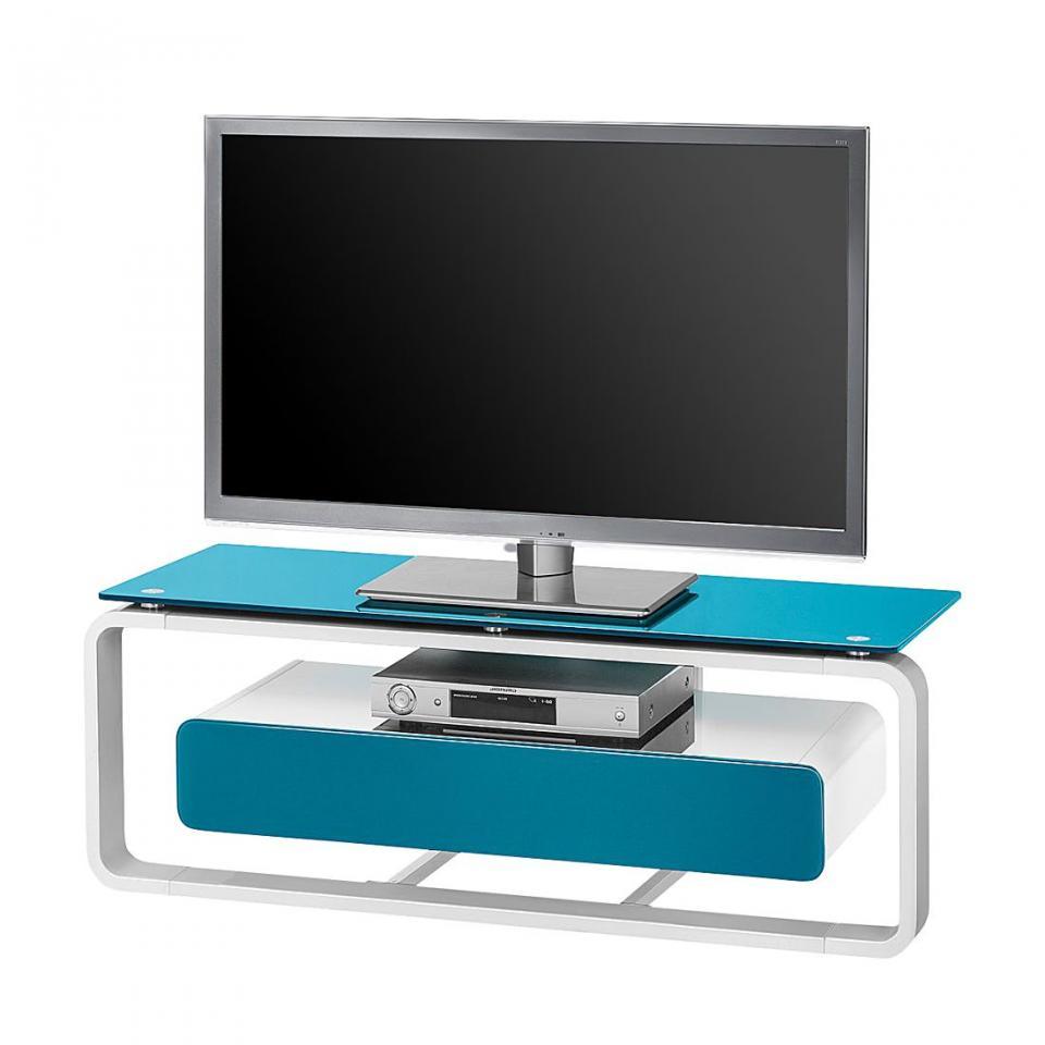 Recherche meuble verre du guide et comparateur d 39 achat for Meuble tv blanc 110 cm