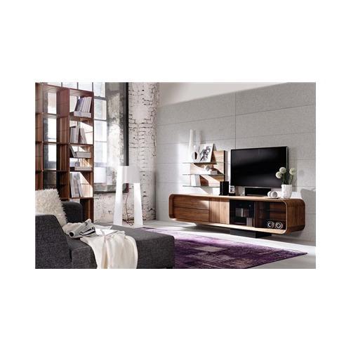meuble tv noyer massif maison design. Black Bedroom Furniture Sets. Home Design Ideas