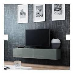 Meuble TV VIGO 140 GRIS