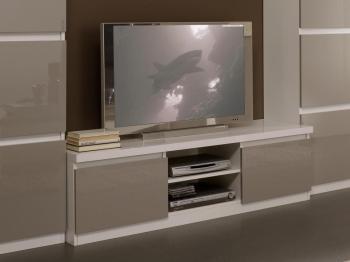 Catgorie meubles de tlvision du guide et comparateur d 39 achat - Meuble tv hifi blanc laque ...