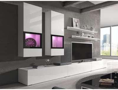 Mur tv-hifi BABEL 5 portes