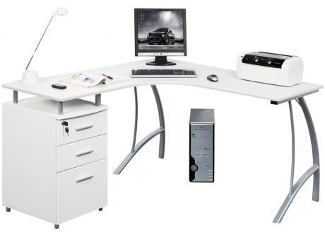 Recherche caisson du guide et comparateur d 39 achat - Bureau multimedia blanc ...