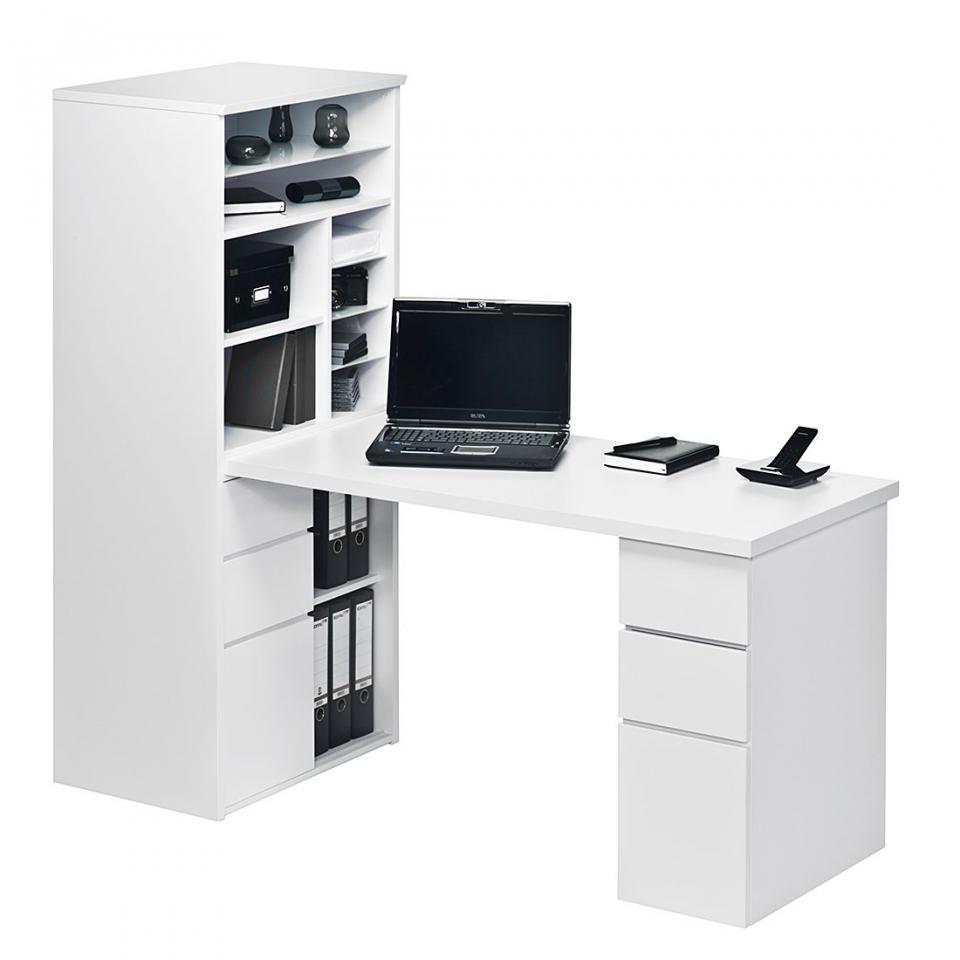 Bureau avec étagère Leela